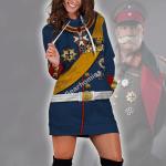 Gearhomies Dress Hoodie General Paul Von Hindenburg (1847-1934) Historical 3D Apparel