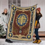 Gearhomies Blanket French Coat Of Arms