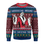 Merry Christmas Gearhomies Unisex Christmas Sweater Faux Knit Ric Flair