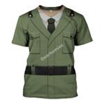 Gearhomies Unisex T-Shirt  Italian Military WWI 3D Apparel