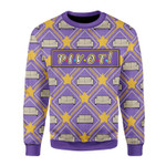 Merry Christmas Gearhomies Unisex Christmas Sweater Pivot 3D Apparel