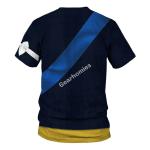 Gearhomies Unisex T-Shirt Gustav III of Sweden 3D Apparel