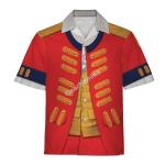 Gearhomies Unisex Hawaiian Shirt Henry Clinton Historical 3D Apparel