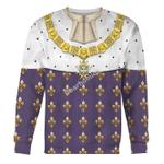 Gearhomies Unisex Sweatshirt Louis XVI of France 3D Apparel
