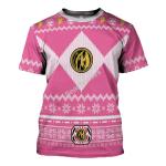 Gearhomies Pink Power Rangers T-Shirt