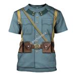 Gearhomies Unisex T-Shirt World War I Austro Hungarian Soldiers 3D Apparel
