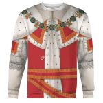 Gearhomies Unisex Sweatshirt Charles II King of England 3D Apparel