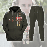 Gearhomies Tracksuit Hoodies Pullover Sweatshirt Fighter Pilot Lydia V. Litvyak Historical 3D Apparel
