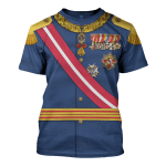 Gearhomies Unisex T-Shirt King Alfonso XIII of Spain 3D Apparel