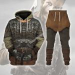 Gearhomies Tracksuit Hoodies Pullover Sweatshirt Floki Viking Historical 3D Apparel