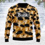 Merry Christmas Gearhomies Unisex Ugly Christmas Sweater Cheems Ponk Meme 3D Apparel