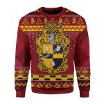 Merry Christmas Gearhomies Unisex Christmas Sweater Alpha Phi Alpha 3D Apparel