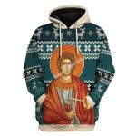 Gearhomies Unisex Tops Pullover Sweatshirt St. Trifun 3D Apparel