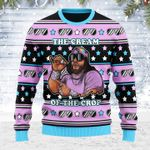 Merry Christmas Gearhomies Unisex Ugly Christmas Sweater The Cream Of The Top 3D Apparel