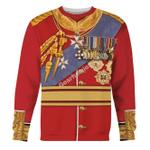 Gearhomies Unisex Sweatshirt King George V 3D Apparel