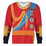 Gearhomies Unisex Sweatshirt Prince William 3D Apparel
