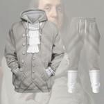 Gearhomies Tracksuit Hoodies Pullover Sweatshirt Benjamin Franklin Historical 3D Apparel