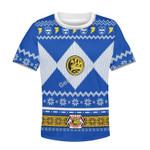 Gearhomies Blue Power Rangers Kid T-Shirt