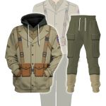Gearhomies Tracksuit Hoodies Pullover Sweatshirt 442nd Infantry Regiment Historical 3D Apparel