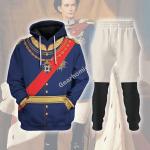 Gearhomies Tracksuit Hoodies Pullover Sweatshirt King Ludwig II of Bayern Historical 3D Apparel