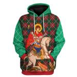 Gearhomies Tops Pullover Sweatshirt St. George 3D Apparel