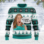 Merry Christmas Gearhomies Unisex Ugly Christmas Sweater Vicki Gunvalson Real Housewives of Orange County 3D Apparel