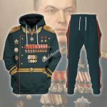 Gearhomies Tracksuit Hoodies Pullover Sweatshirt Konstantin Rokossovsky Historical 3D Apparel