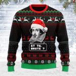 Merry Christmas Gearhomies Unisex Ugly Christmas Sweater Et Tu Brute 3D Apparel