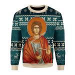 Merry Christmas Gearhomies Unisex Christmas Sweater St. Trifun  3D Apparel