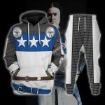 Gearhomies Tracksuit Hoodies Pullover Sweatshirt Sir James Douglas The Black Douglas Historical 3D Apparel