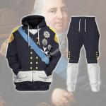 Gearhomies Tracksuit Hoodies Pullover Sweatshirt Louis XVIII Of France Historical 3D Apparel