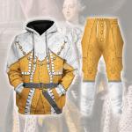 Gearhomies Tracksuit Hoodies Pullover Sweatshirt George III Of Great Britain Historical 3D Apparel