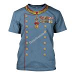 Gearhomies Unisex T-Shirt Archduke Franz Ferdinand of Austria 3D Apparel