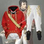 Gearhomies Tracksuit Hoodies Pullover Sweatshirt Napoleon Bonaparte Historical 3D Apparel