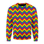 Merry Christmas Gearhomies Unisex Christmas Sweater LGBTQ+ Seamless 3D Apparel