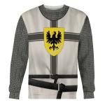 Gearhomies Unisex Sweatshirt Teutonic Knights 3D Apparel