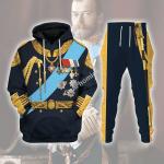 Gearhomies Tracksuit Hoodies Pullover Sweatshirt Nicholas II of Russia Historical 3D Apparel