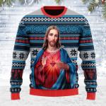 Gearhomies Ugly Christmas Sweater Jesus Christ 3D Apparel