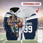 Gearhomies Personalized Unisex Tracksuit Hoodies Dallas Cowboys Football Team 3D Apparel