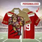 Gearhomies Personalized Unisex Hawaiian Shirt San Francisco 49ers Football Team 3D Apparel