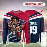 Gearhomies Personalized Unisex Sweatshirt New England Patriots Football Team 3D Apparel