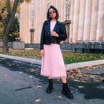 Nine Points Sleeve Mid-Calf Pleated Standard-Waist Womens Maxi Dress