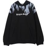 Bf Lovers Loose Hooded Sweater National Tide Ghost Hand Fleece Hoodie