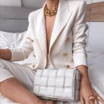 Solid Color Fashion Casual Suit Short Jacket