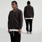 Mens Zipper Cardigan Sweatershirt