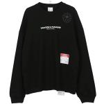Hip-hop National Tide Print Couple Round Neck Loose Sweatshirt