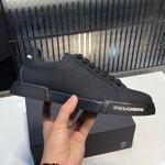 Dolce &Gabbana Calfskin nappa Portofino sneakers