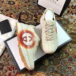 Gucci Rhyton Interlocking G Heart Sneaker shoes