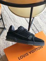 Shoes LV TRAINER black sneaker