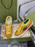 Shoes Gucci 1977 tennis sneaker gold